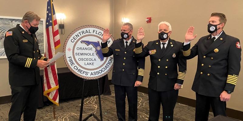 2021 New CFFCA Officers Swearing In